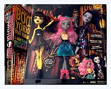 Amazon.es: Mattel Monster High Boo York Boo York A Monsterrific ...
