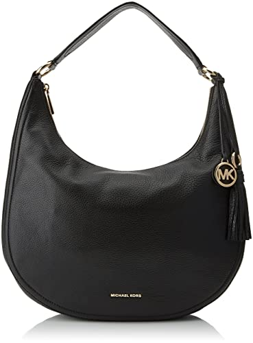 06e1c85fa0cd8b Amazon.com: Michael Kors Womens Lydia Shoulder Bag Black (Black)_30F7GL0L3L:  Michael Kors: Shoes