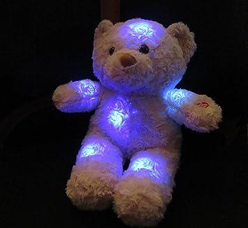 S+K GmbH Oso de peluche con luz nocturna LED Tamaño aprox. 21