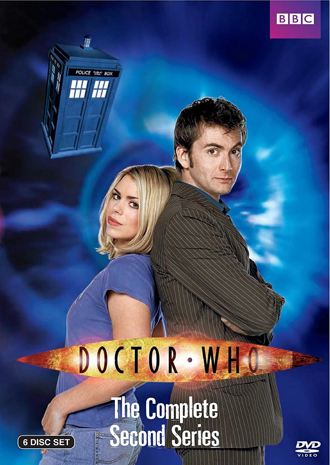 Dr. Who: The Complete Second Series David Tennant BBC Home Entertainment 26251980 British TV
