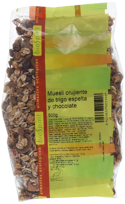 Biospirit Muesli Crujiente de Espelta Choco de Cultivo ...