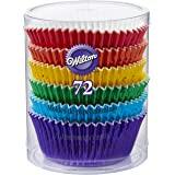 Primary Rainbow Colours Baking Cases, Standard, pack of 72