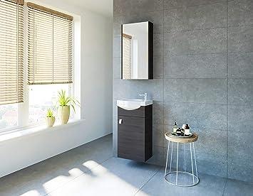 Bekannt planetmoebel Badmöbel Set Gäste WC Waschtischunterschrank UH33
