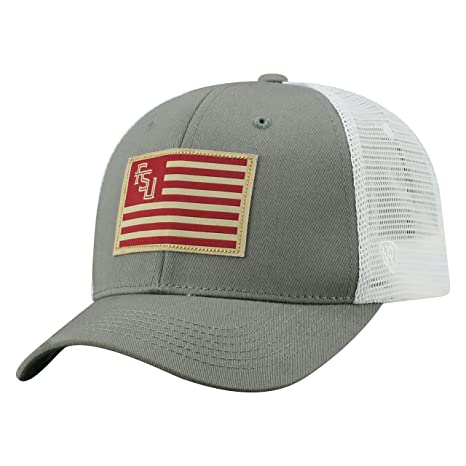Image Unavailable. Image not available for. Color  Top of the World Florida  State Seminoles Official NCAA Adjustable Brave Cotton Mesh Trucker Hat Cap cf834b864688