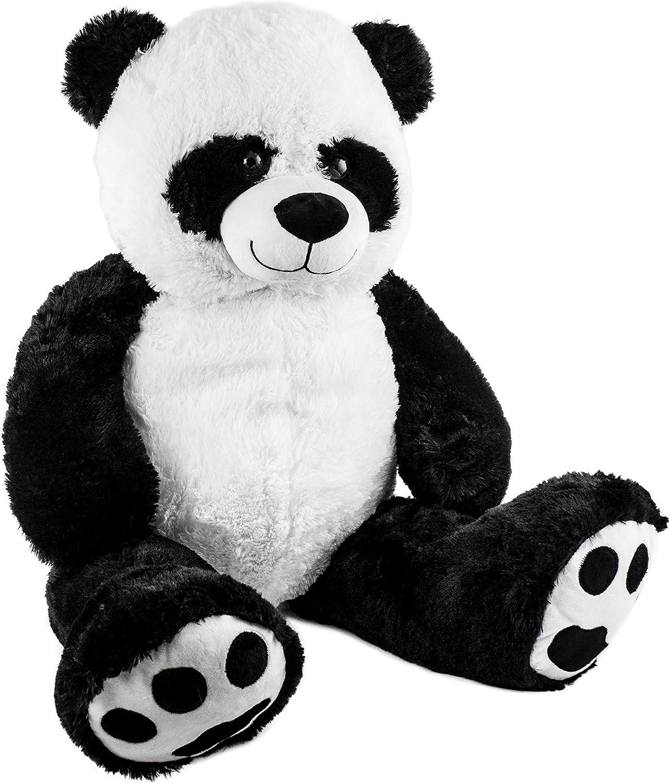 BRUBAKER Peluche Gigante XXL - Panda Osito de Peluche - 100 cm