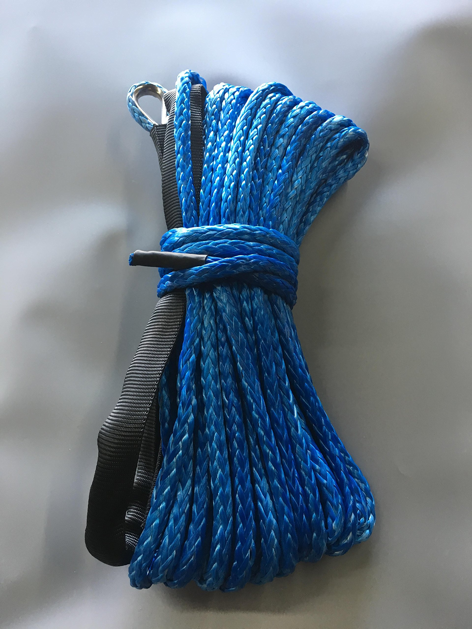 Polaris High lifter 1000 900 Winch Replacement Synthetic Rope (Blue) by Southern Powersports (Image #1)