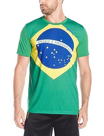 fa204b43e PUMA Men's Olympic Fan Wow Tee | Amazon.com