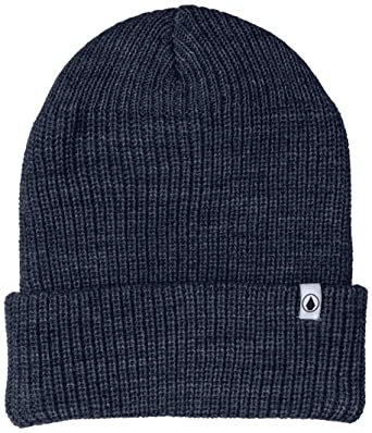 7de1c496 Volcom Men's Naval Beanie, Navy, One Size Fits All: Amazon.in ...