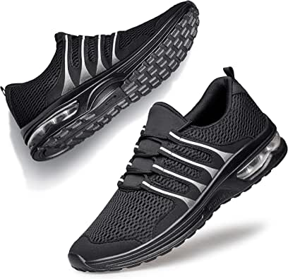 Alibress Unisex Sneakers Ultralight Breathable Non Slip Sports Shoes for Walking Jogging Gym Fitness Daily Exercises
