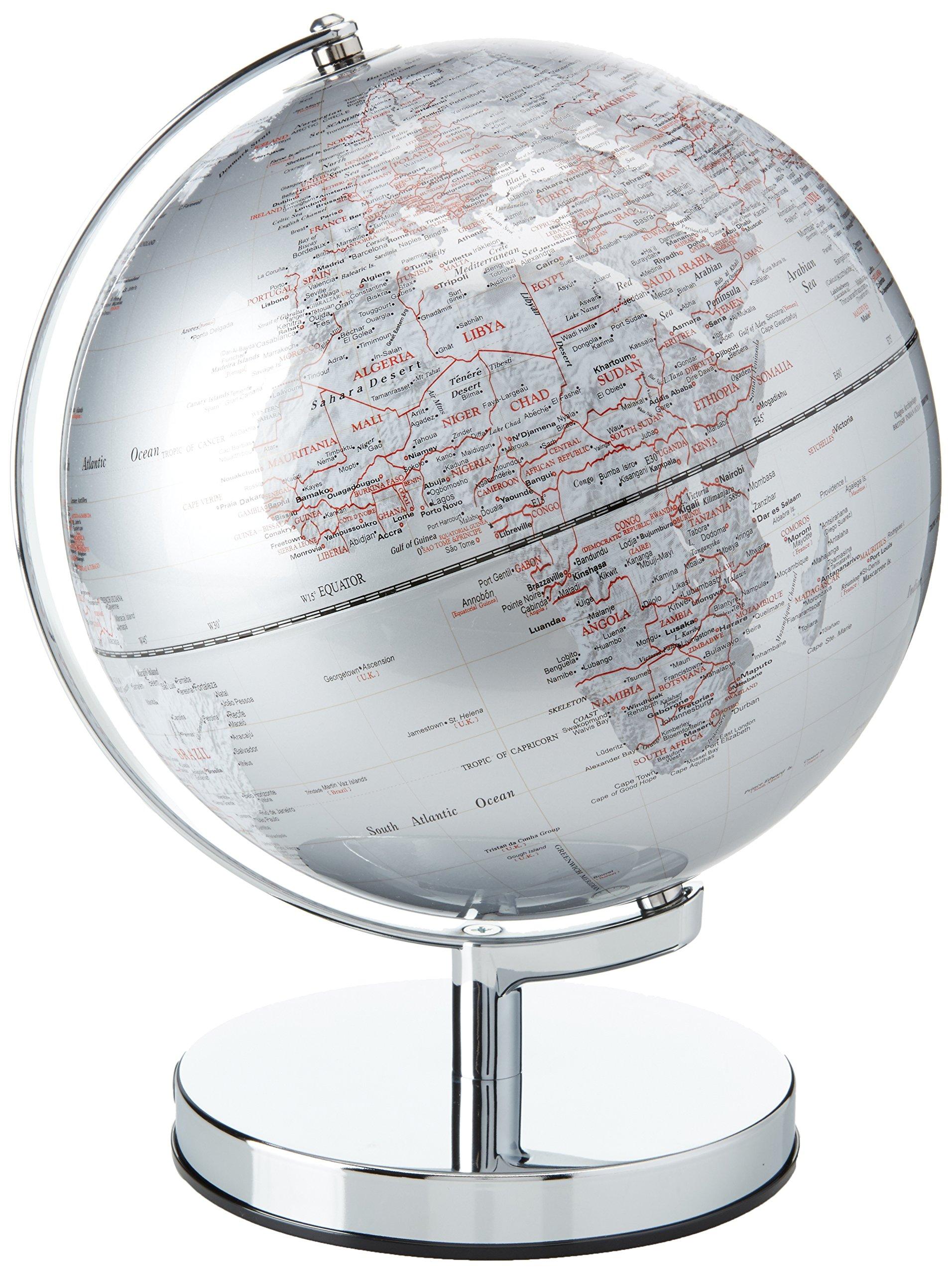 Wild and Wolf Gentlemen's Hardware Globe Light, 10 Inch Diameter