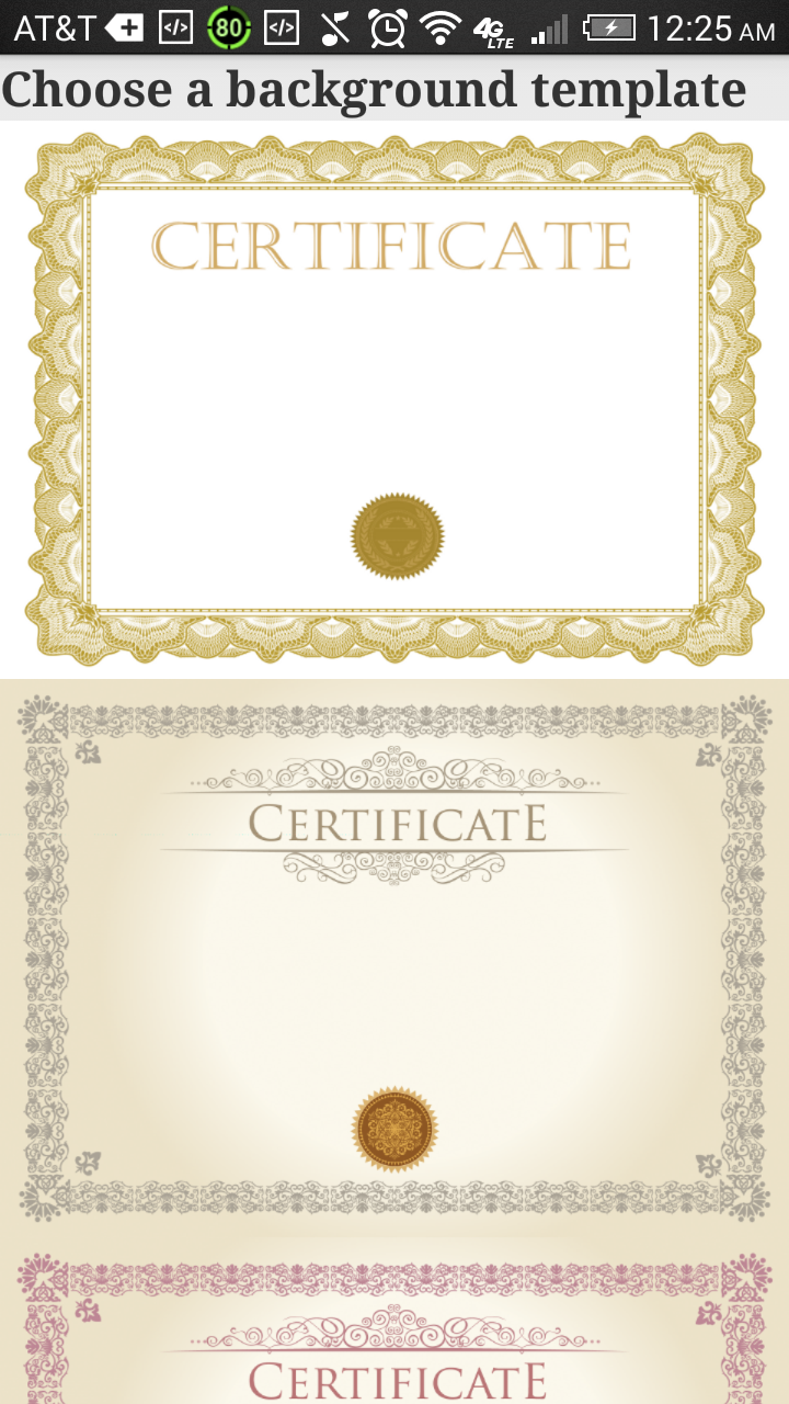 certificate maker pro amazonca appstore for android