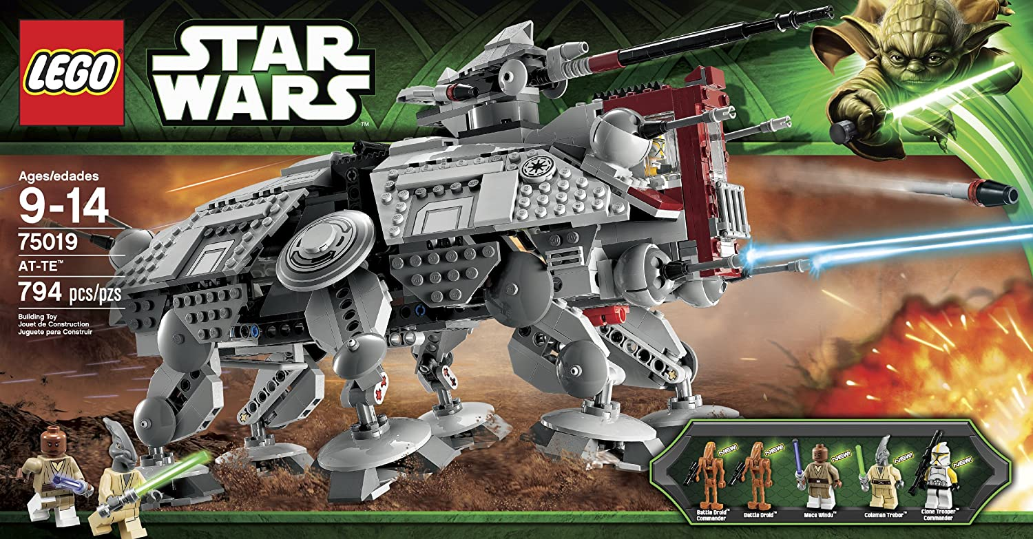 Amazon Lego Star Wars At Te Discontinued By Manufacturer