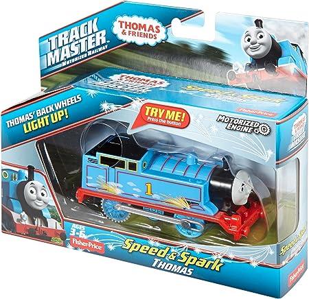 DVG04 Fisher-Price Thomas /& Friends TrackMaster Motorised Speed /& Spark THOMAS