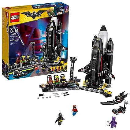 amazon com lego batman movie dc the bat space shuttle 70923