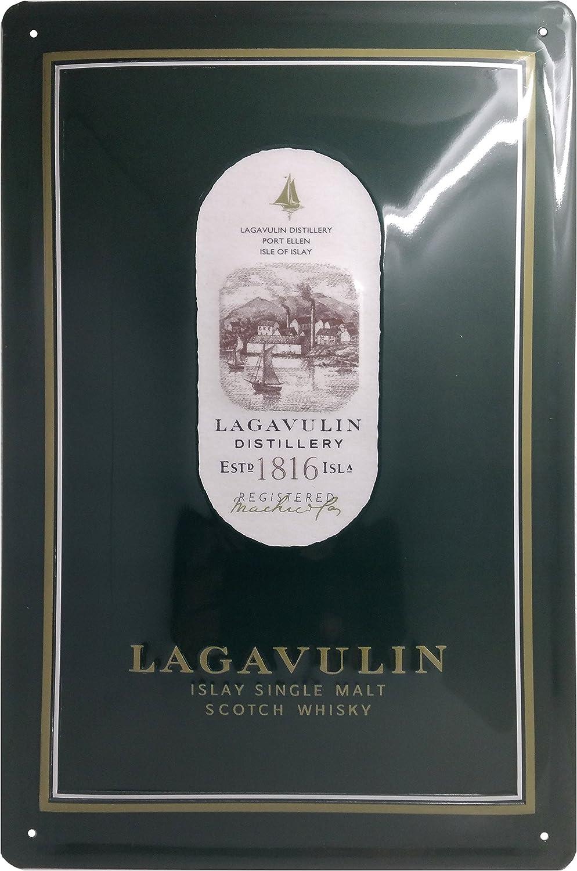 Laguavulin Cartel de chapa