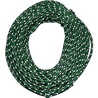 Nite Ize - Cordón reflectante para atar lonas y tiendas de campaña, 50 pies, alta resistencia, alta visibilidad, color verde