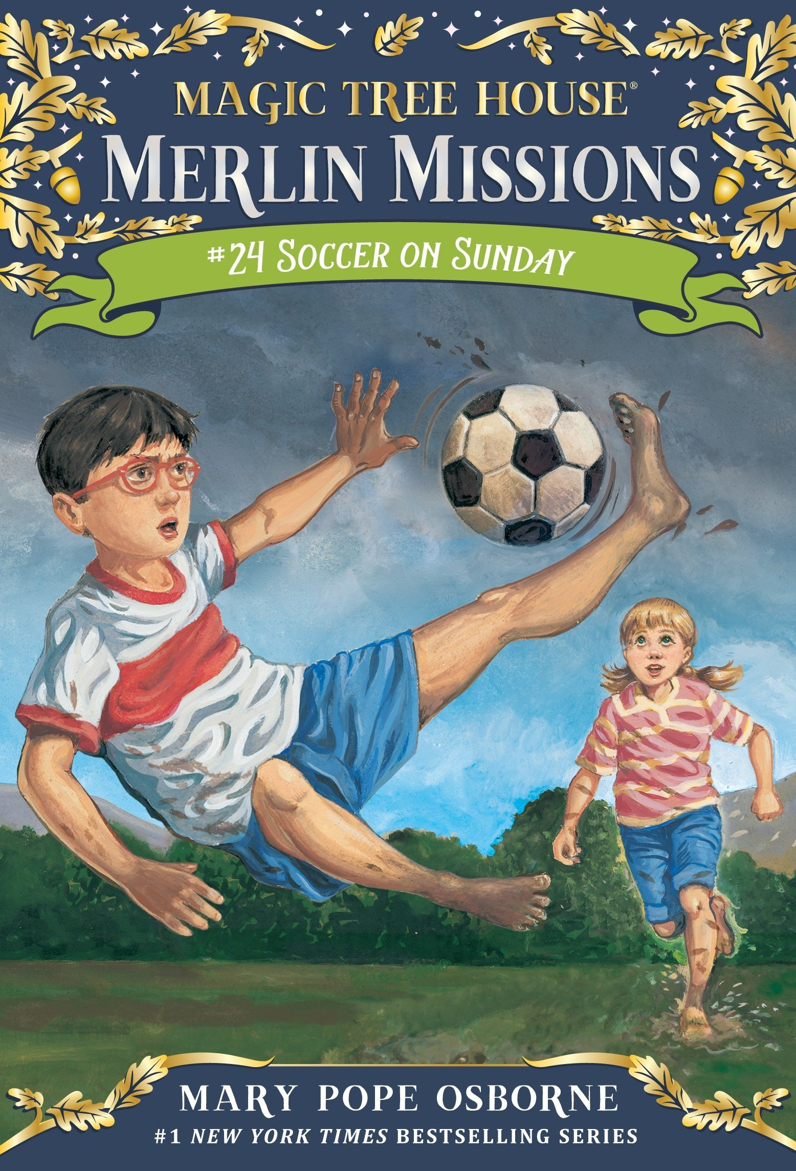 Magic Tree House #52: Soccer On Sunday (A Stepping Stone Booktm)