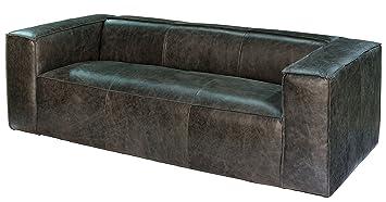 Sarreid 27735 Bauhaus Sofa, Black