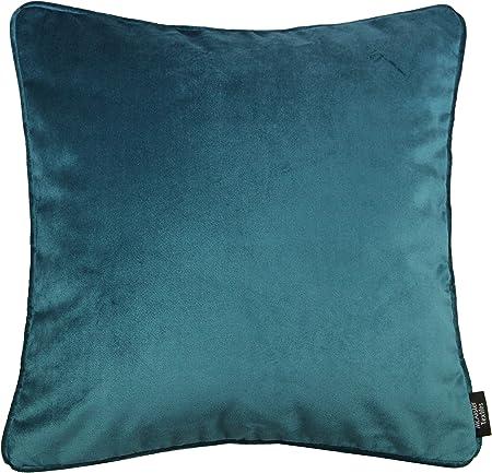"NEW Crush Velvet Cushion Decoration Covers Luxury Plush Plain 8 Colours 24/""x24/"""