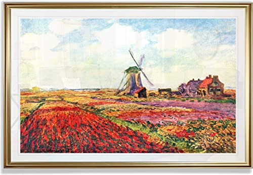 Monet Wall Art Collection Tulips of Holland