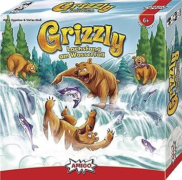 Amigo 01954 Grizzly - Juego de Mesa (Contenido en alemán): Amazon.es: Juguetes y juegos