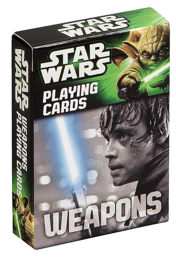 Amazon.com: Cartamundi Star Wars Weapon Playing Cards: Home ...