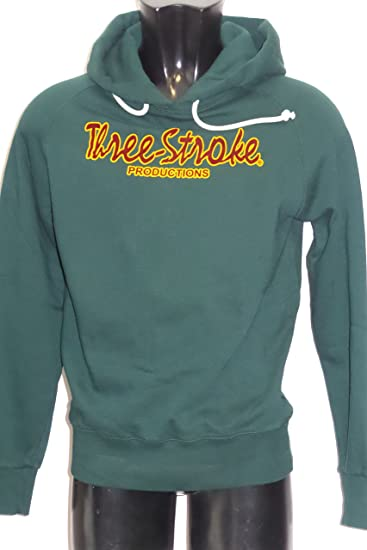 official photos ece46 36d74 Three Stroke Felpa TS007 Classic Green Casuals (XS): Amazon ...