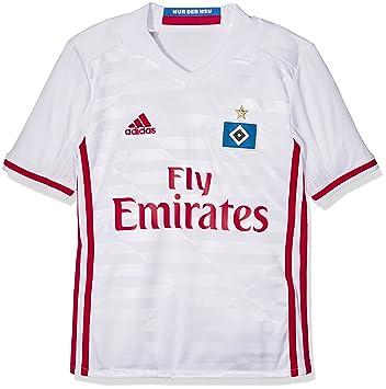 eb0b61fce1b Hamburger SV Home KIDS Shirt 2016 2017: Amazon.co.uk: Sports & Outdoors