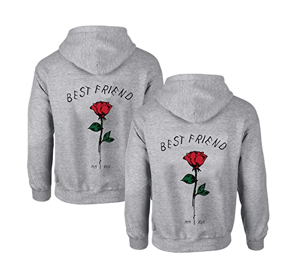 c5a8711231 Couples Shop Freunde Kapuzenpullover für Zwei Damen Friends Pullover  Sweatshirts Partner Look Damen Sweatshirts Sister Rose