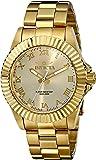 ساعة انفيكتا للرجال 16739 برو دايفر انالوج ساعة كوارتز ذهبية