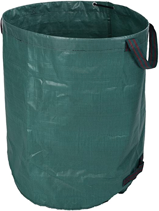Bolsas de Basura de jardín 270liter – Saco de jardín ø67cmxh75 cm Basura Saco jardín Verde: Amazon.es: Jardín