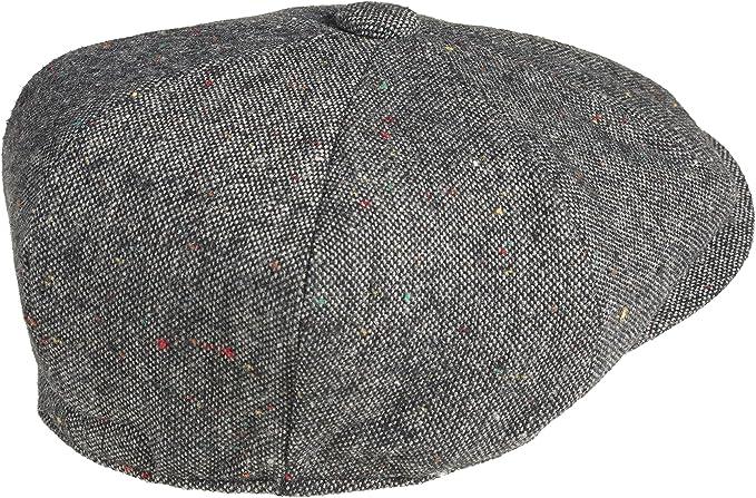Gorra tipo Ascot de lana al 100%, marca Peaky Blinders: Amazon.es ...