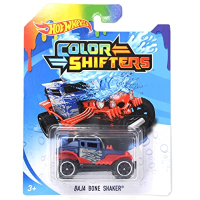 HW Color Shifters Baja Bone Shaker: Toys & Games