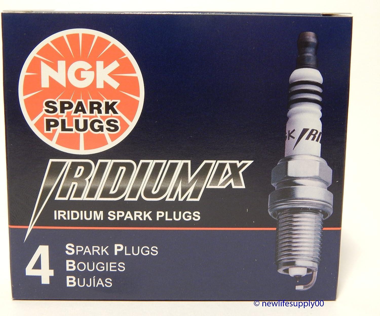 NGK - 4 nuevas bujías de iridio Iridium CR9EIX