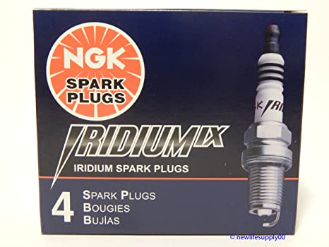 4 New NGK Iridium IX Spark Plugs CR9EIX # 3521 by NGK