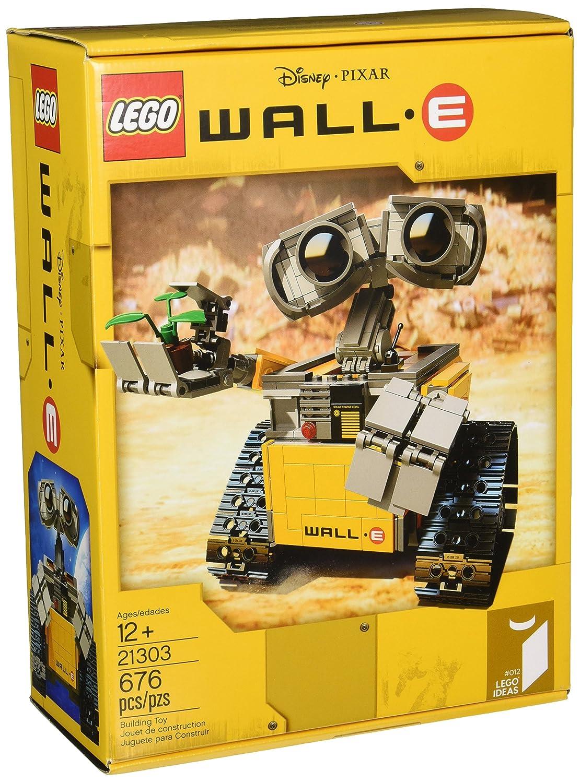 Amazon.com: LEGO Ideas WALL E 21303 Building Kit: Toys & Games