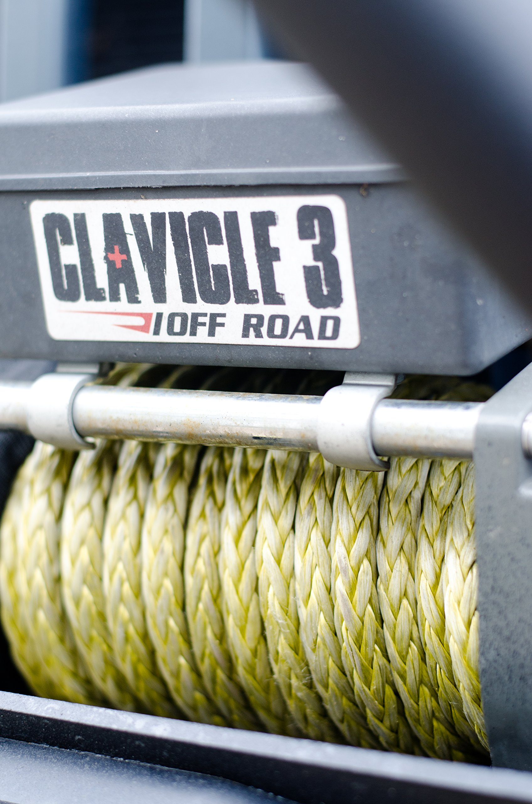 High Performance Dyneema Synthetic Winch Line (100')