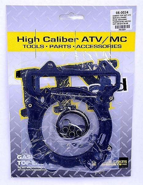 KIPA Top End Head Gasket Kit For Kawasaki KFX400 Suzuki Z400 Quadsport ARCTIC CAT DVX 400 ATV Quad Asbestors-Free