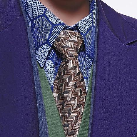 Batman Joker de el Caballero Oscuro Corbata Seda Corbata Disfraz ...