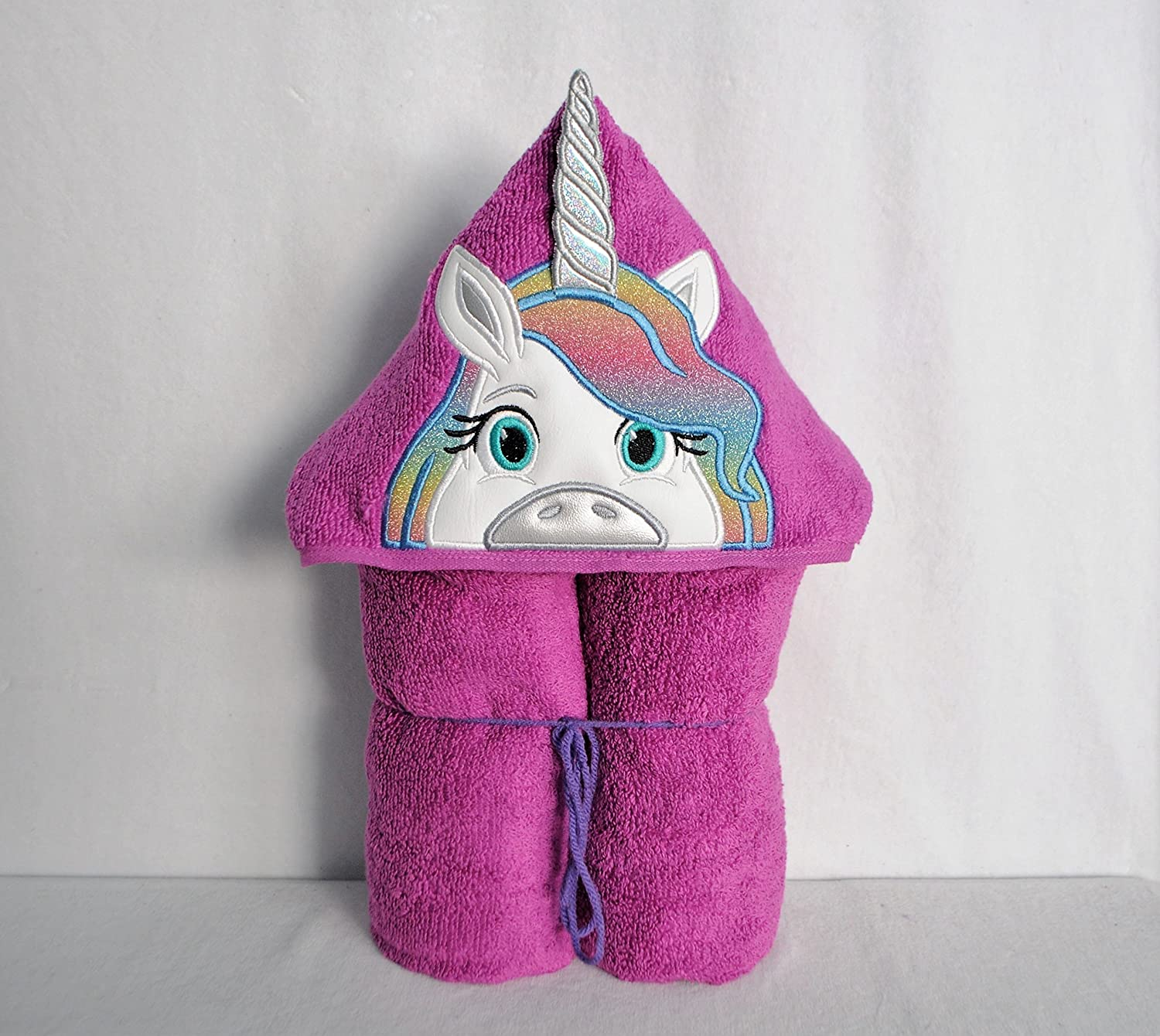 Pretty Pastel Unicorn Hooded Bath Towel - Baby, Child, Tween