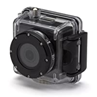 Kitvision Splash Waterproof Full HD 1080p Action Camera with Mounting Accessories and Waterproof Diving Case - Black