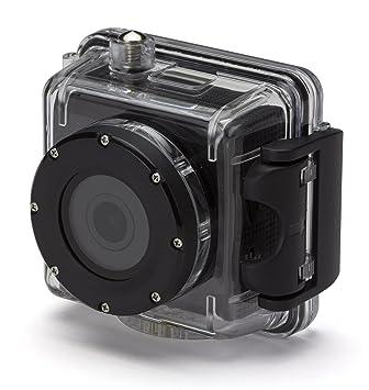 KitVision KVSPLASHBK - Cámara de acción impermeable Full HD 1080p con accesorios de montaje y funda submarina impermeable, color negro: Amazon.es: ...