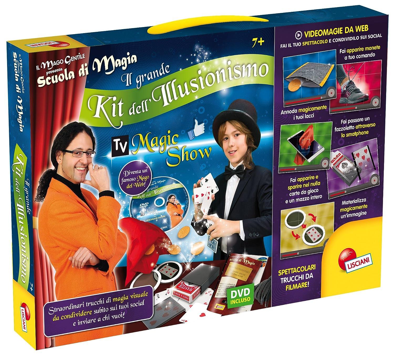 Lisciani Giochi Il Mago Gentile Scuola di Magia Il Mio Primo Spettacolo, 46409 Liscianigiochi Italy 7227