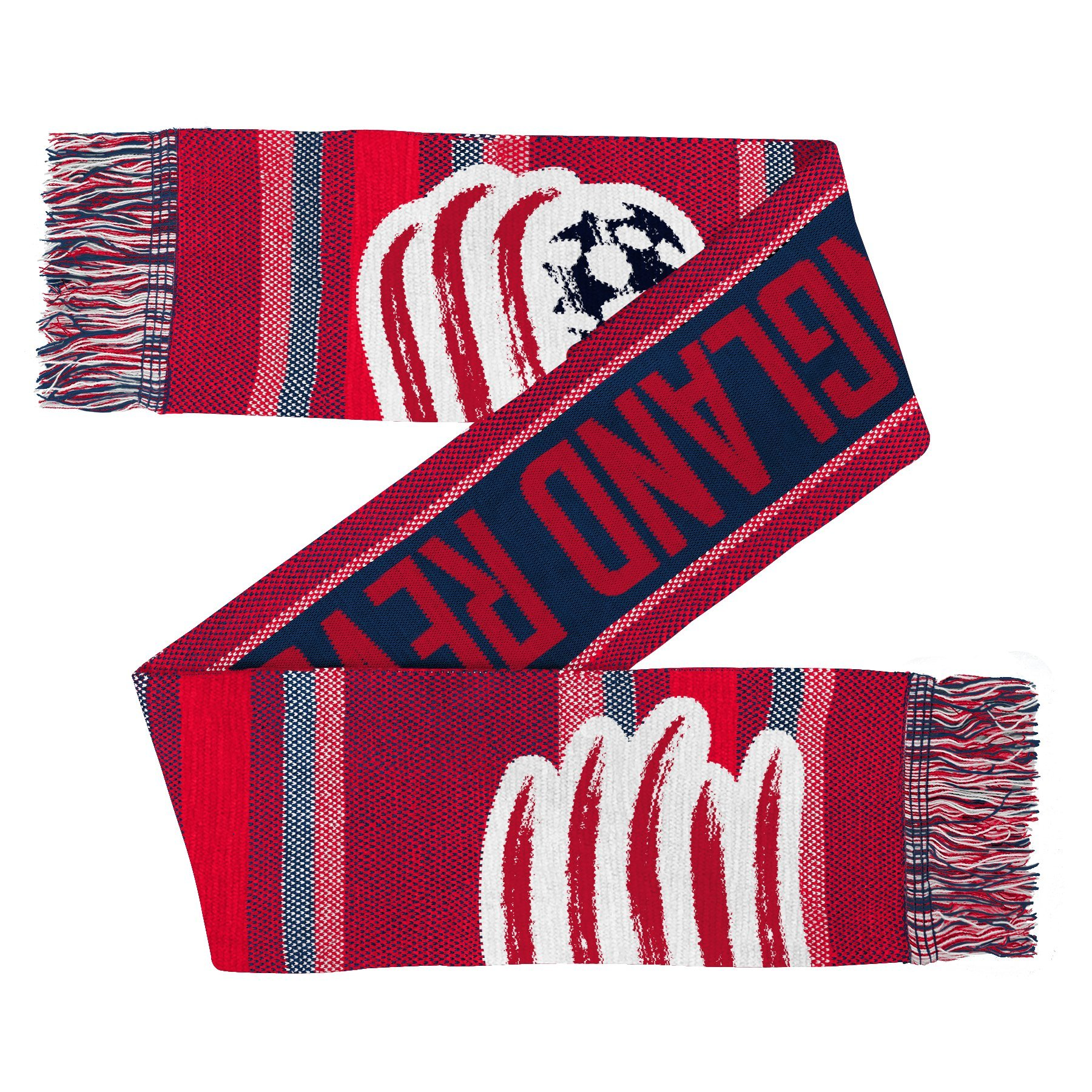 Outerstuff MLS New England Revolution Youth Boys Fan Scarf, 1 Size, Dark Navy