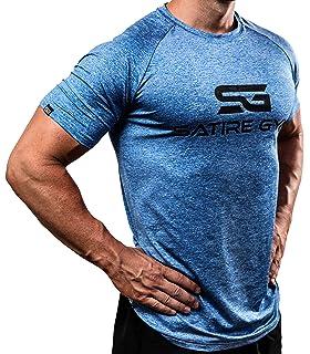 2c11f0fd5f3505 Satire Gym Fitness T-Shirt Herren - Funktionelle Sport Bekleidung -  Geeignet Für Workout