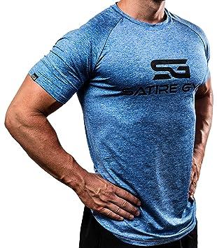 Satire Gym Fitness T-Shirt Herren - Funktionelle Sport Bekleidung -  Geeignet Für Workout, 3be5748a56