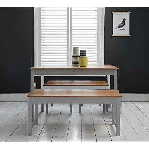 Bench Dining Table Set: Amazon.co.uk
