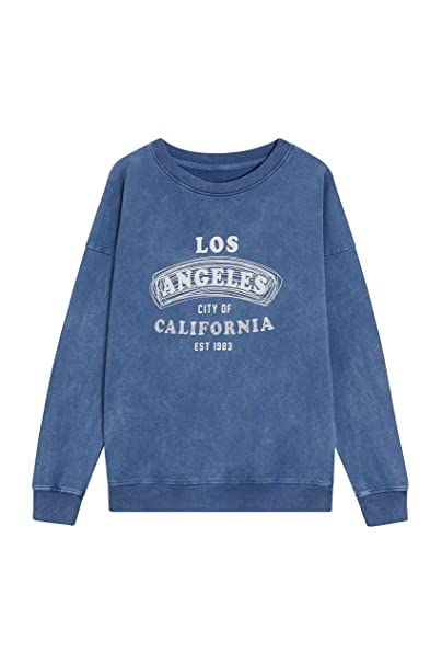 next Mujer Suéter Los Angeles Azul EU 50 (UK 22)