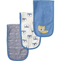 Gerber Baby Girls 3-Pack Terry Burp Cloth