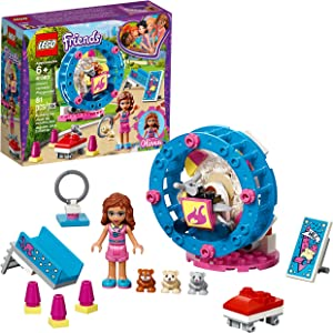 LEGO Friends Olivia's Hamster Playground 41383 Building Kit, 2019 (81 Pieces)